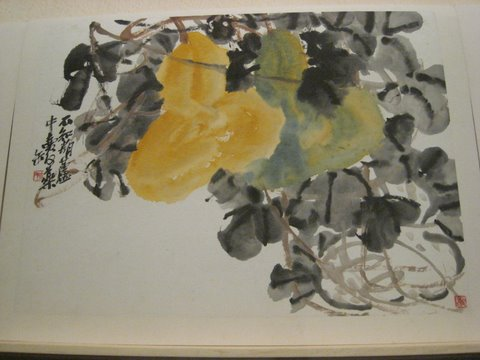One of many lovely watercolor paintings!  Photo by mjb2009