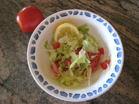 Add a little squeeze of lemon, a little sugar, salt, and pepper. Mix! Stuff taco!   Photo by mjb2009