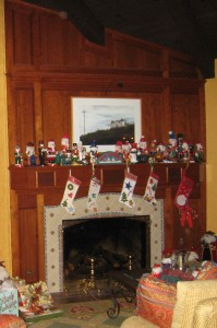 Nutcrackers Vying for Mantle Space!  Photo by mjb2009