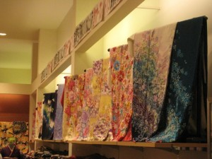 Lovely Japanese Silk Fabrics mjb Spotted in Her Trip to Japan Last Year  Photo by mjb2009