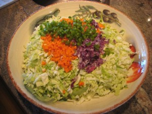 Simple and Simply Delicious Coleslaw Ingredients! Photo by mjb2010
