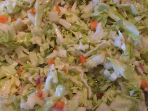 Up Close and Coleslaw-y! Photo by mjb2010