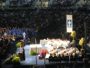Lots of Holy People Preside Over the Commencement Mass! Photo by mjb2010
