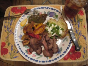 Flank Steak with missjunebug's Marvy Marinade! Photo by mjb2010