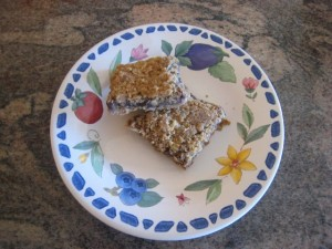 A Plateful of Goodness: missjunebug's Homemade Breakfast Bars!! Photo by mjb2010