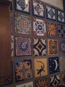 Better Than Paint or Wallpaper: Gorgeous Mexican Tiles! Photo by mjb2010