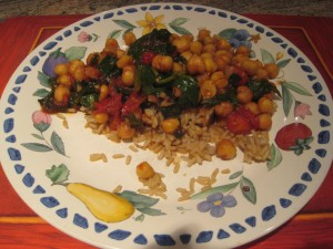missjunebug's Vegan Dinner! Photo by mjb2011