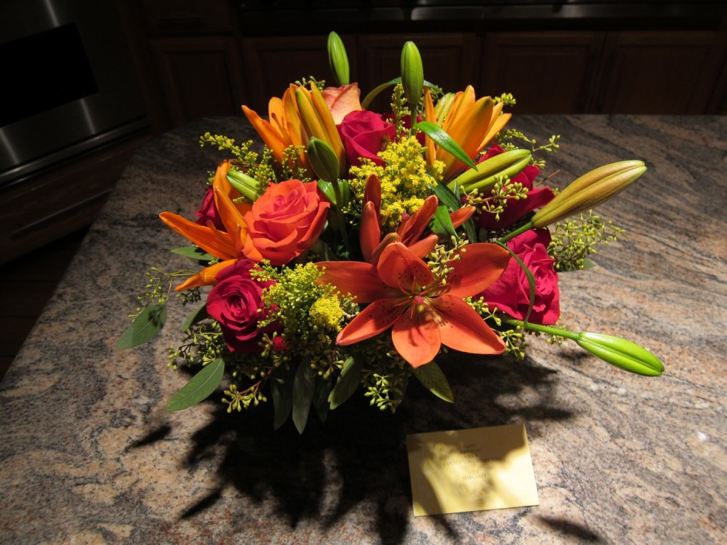 Most Beautiful Flowers Ever! Thanks, Margaret!!!! Photo by mjb2011
