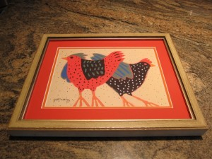 What a great framing job for missjunebug's chickens! Thanks Gonzalez Framing!