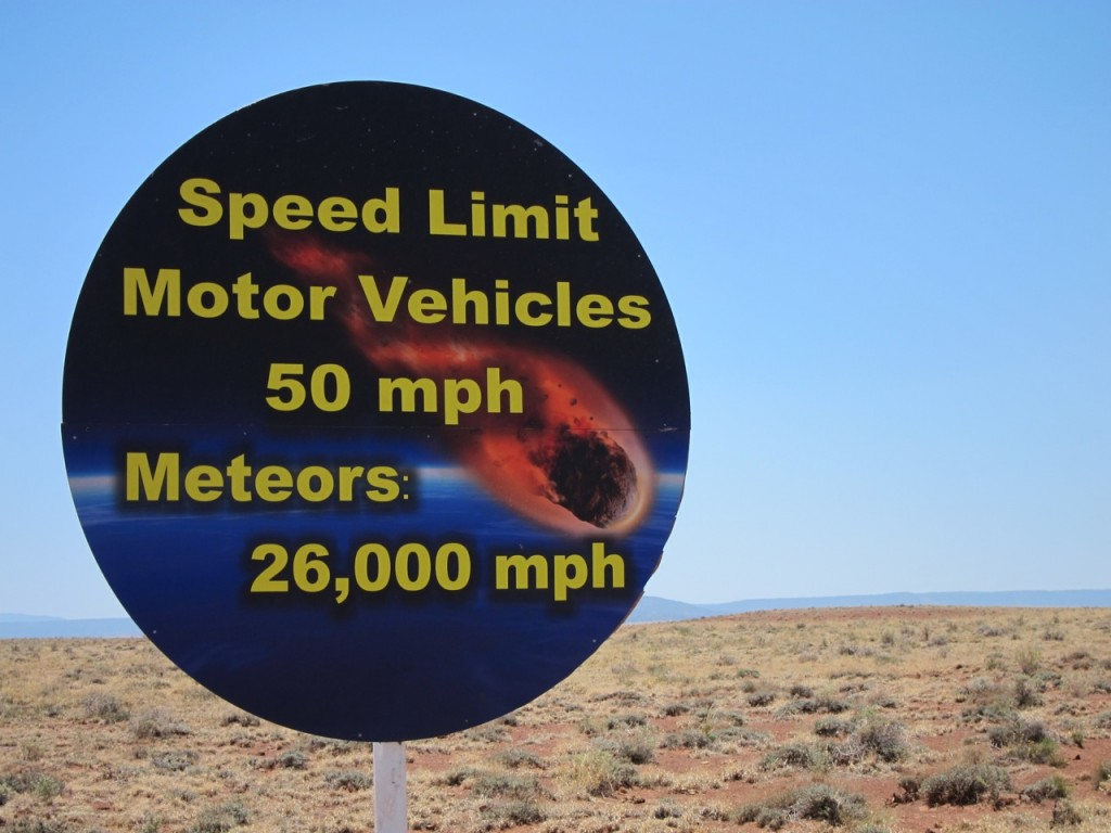 First Stop: Meteor Crater!!! Photo by mjb2012